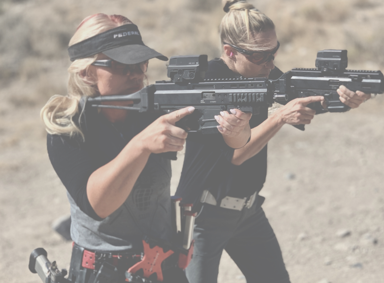 Women Firearms-Courses Faded