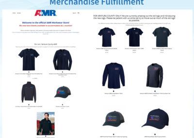 Merch Fulfillment - AMR Workwear