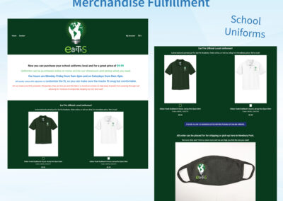 Merch Fulfillment - School Uniforms - Earths