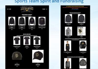 Team Spirit and Fundraising Store - NPGS