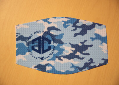 Face Mask with Sublimated Print