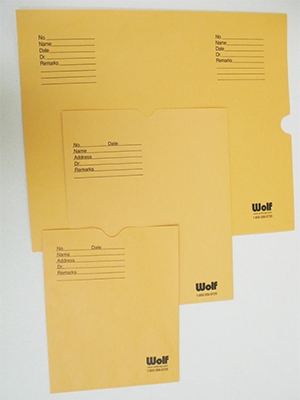 Film Filing Envelopes