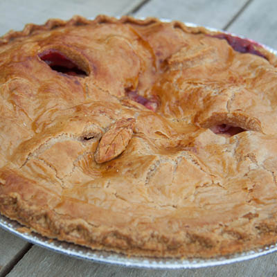Orr's Apple-Raspberry Pie