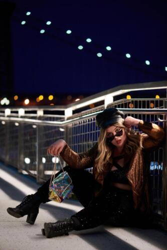 Alexa Phelece at Domino Park, Brooklyn, NY PHOTO by ©Kristen Walther