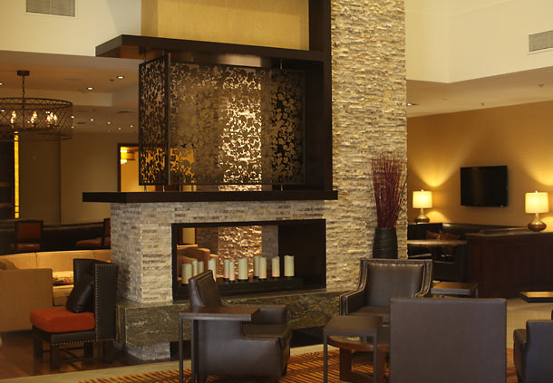 Riverside Marriott Lobby