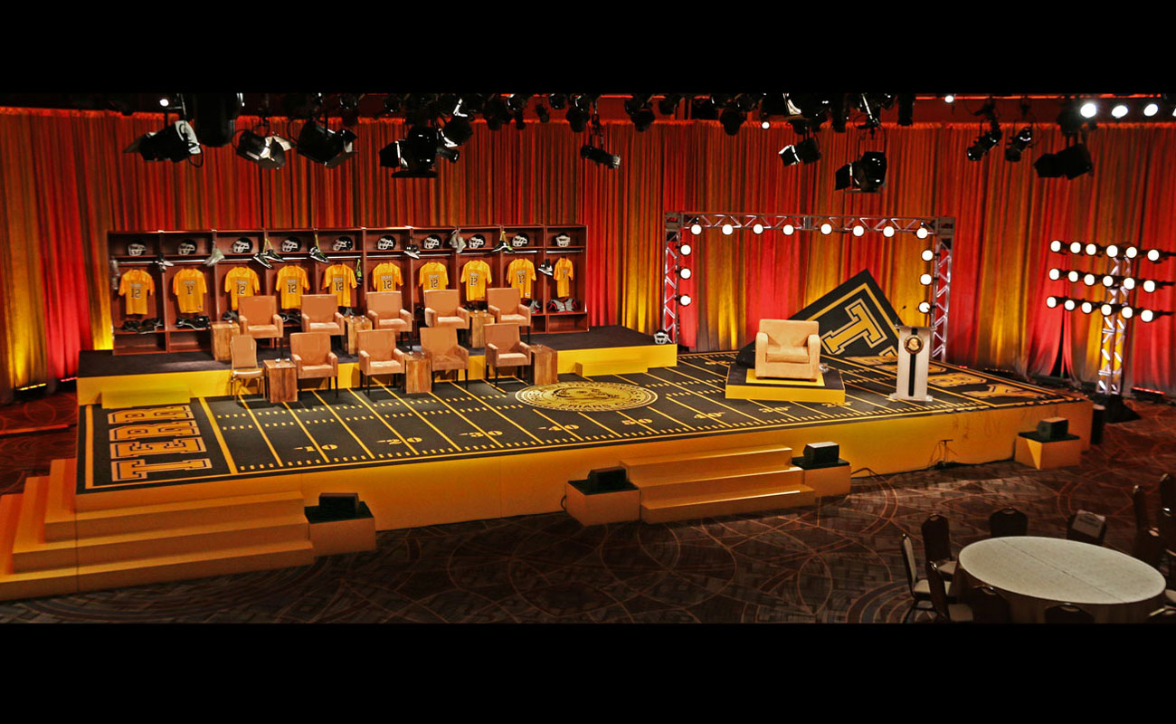 Terry Bradshaw Roast - Production and Lighting Design