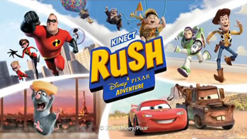 Kinect Rush: A Disney Pixar Adventure - TV Commercial