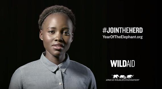 Lupita Nyongo for WildAid
