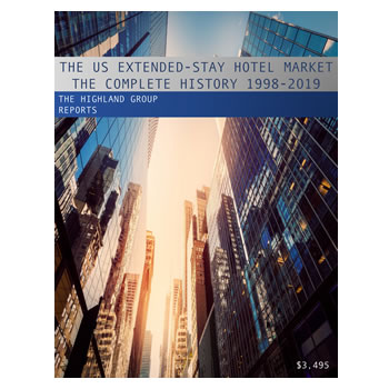 The US Extended-Stay Hotel Market Complete History 1998-2019
