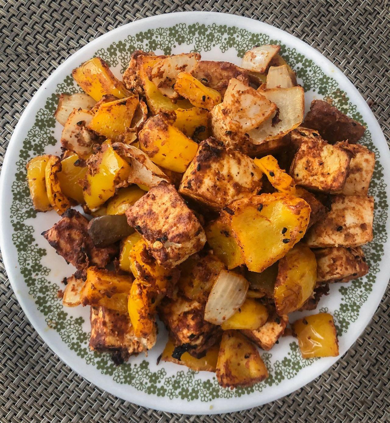Delicious Achari Paneer