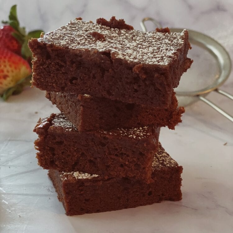 rich and decadent chocolate brownies