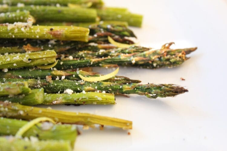 Roasted Asparagus with Lemon and Garlic