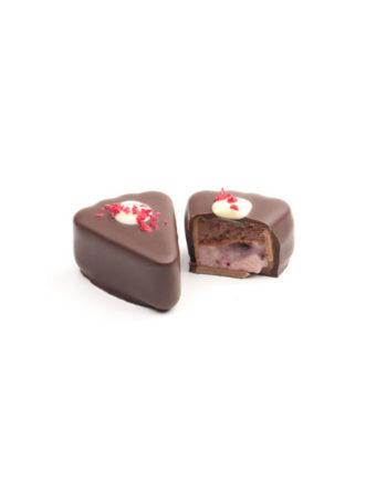 CHERRY GANACHE & CHOCOLATE MOUSSE