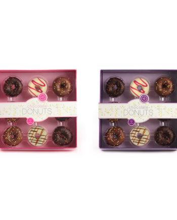 DONUTS PINK/PURPLE BOX