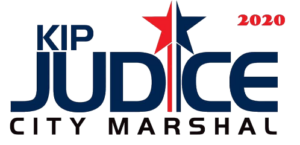 Kip Judice for City Marshal Logo