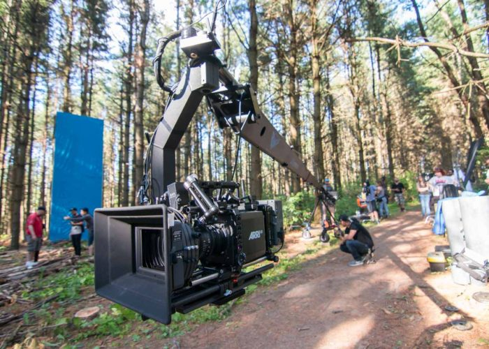 Big Fall Productions Operating Jib with Arri Alexa Mini for Billy Talent Music Video