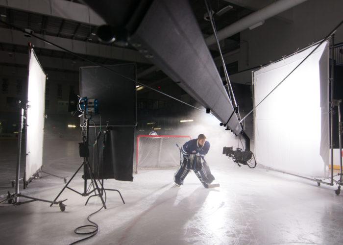 Jib Operator for Toronto Marlies Media Day