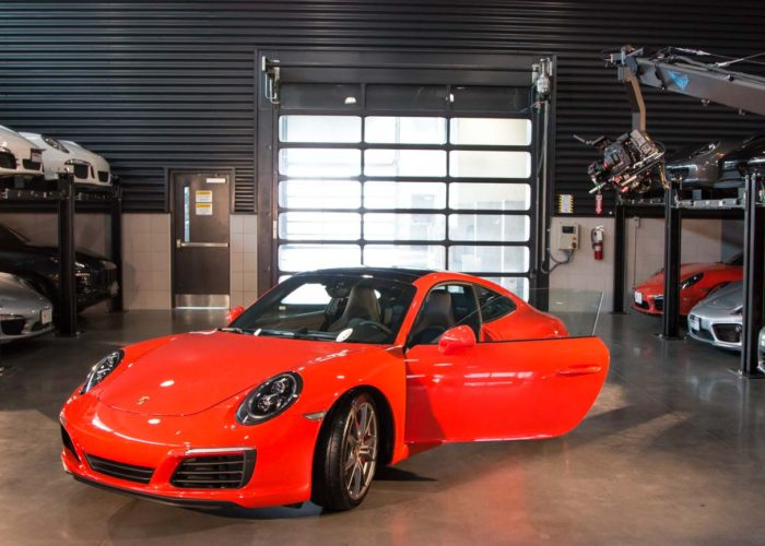 Brendan Schnurr Shooting Porsche Commercial With Jimmy Jib Triangle in Oakville