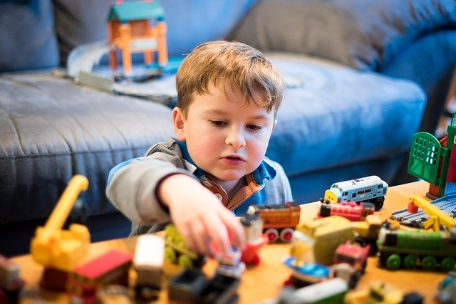 Types of Autism - Child Playing With Blocks