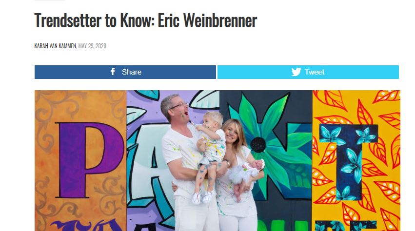 Trendsetter to Know: Eric Weinbrenner
