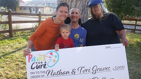 The GRaves Family Donation from ALS Charity