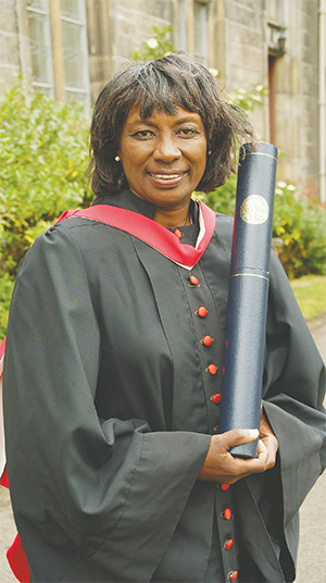 In 2008, Renée Powell was the first female golfer to receive an honorary doctorate from the University of St Andrews in Scotland.