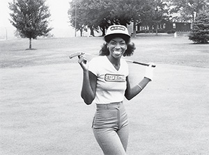 Renée Powell grew up playing golf at Clearview Golf Course, opened by her father, William Powell.(COURTESY OF  USGA MUSEUM)