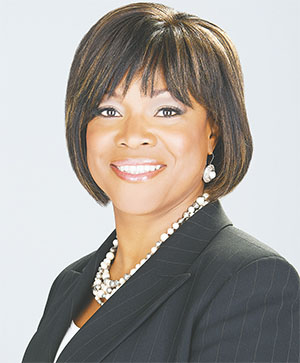 Dr. Valerie Montgomery Rice was one of the speakers at this week's conference.