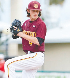 Tyler Norris is a sophomore from Coral Springs.(COURTESY OF B-CU ATHLETICS)