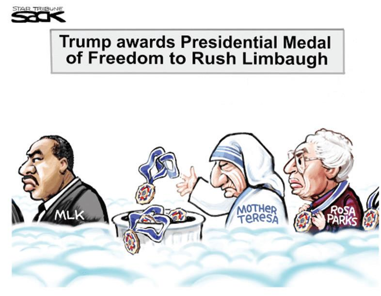VISUAL VIEWPOINT:  LIMBAUGH TARNISH