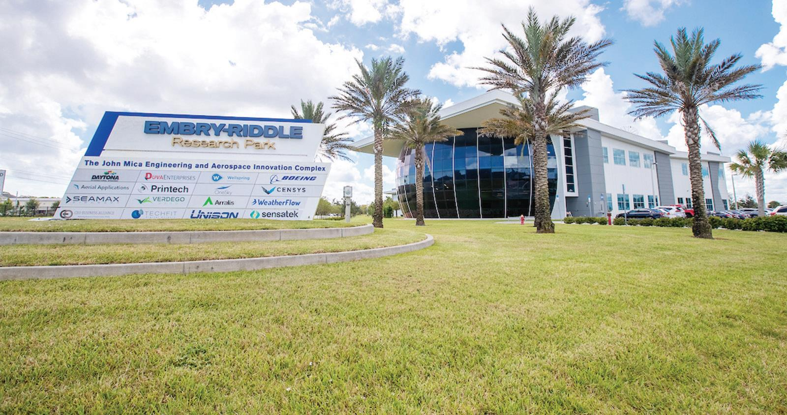 Embry-Riddle's Research Park to support business and job growth