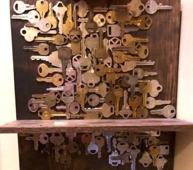 Lehman Key Shelf