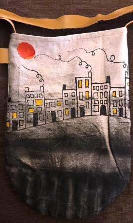 Short Street with City Lights Sharon Benoit