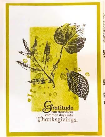 Gratitude Card