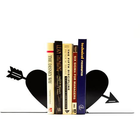 Heart and Arrow Bookend