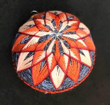 Elizabeth Bittle Temari Ball Autumn Fling