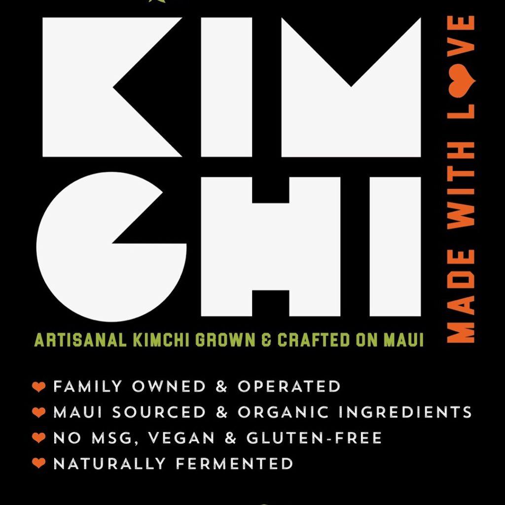 Napili FLO Farm Kimchi Label
