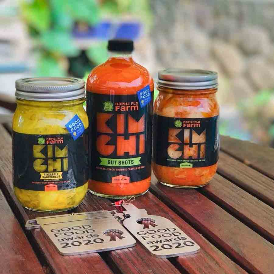 2020 Good Food Awards Napili FLO Farm