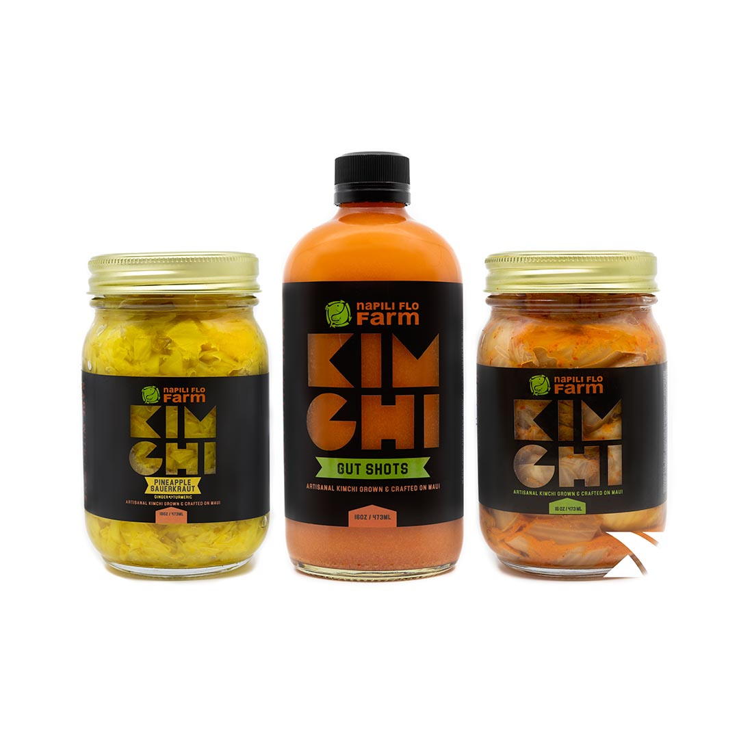 Napili FLO Kimchi Sauerkraut Gutshot combination