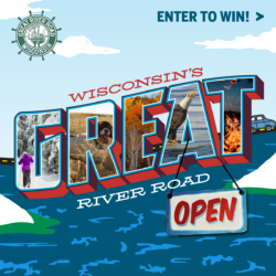 Wisconsin Great River Road Receives Grant to Welcome Visitors Back to Wisconsin's Great River Road during the Winter!