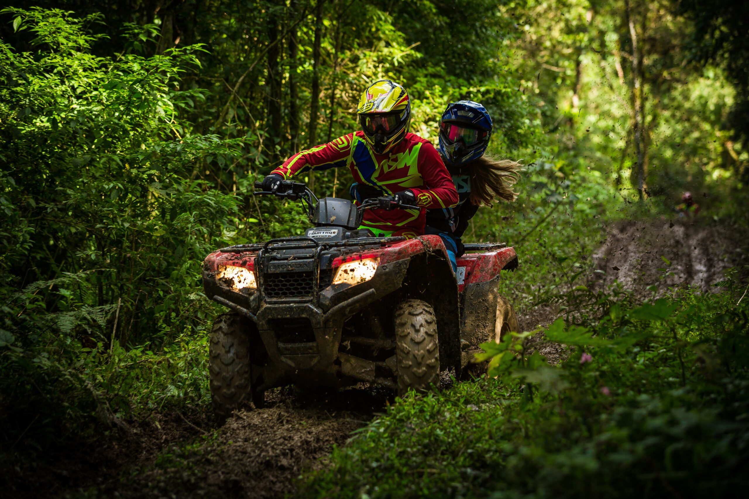 Off Roading with ATVs and UTVs