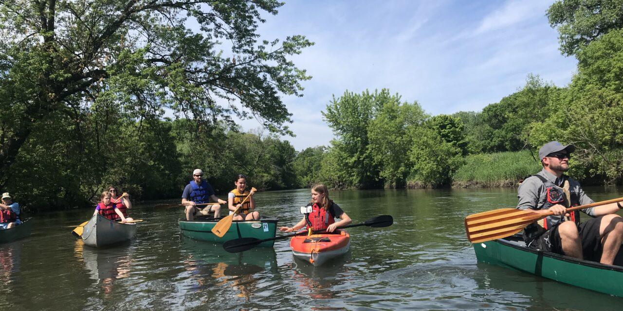 Family Activities by Iowa's Cedar River!