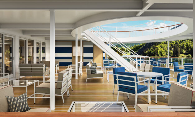 American Cruise Lines Unveils Interior Concepts of New Modern Riverboats