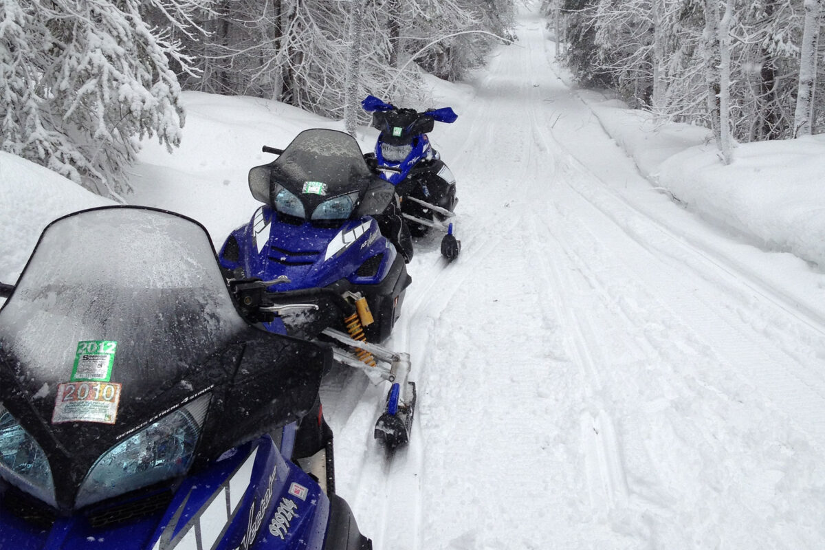 Snowmobiling the Trails of Trempealeau County, WI