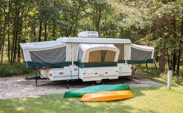 Camping on the Great River Road