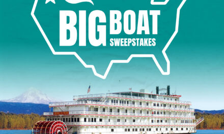 USA River Cruises and River Travel Magazine have partnered for the Big Boat Sweepstakes: Columbia River Cruise