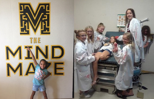 the mind maze escape room kids 2