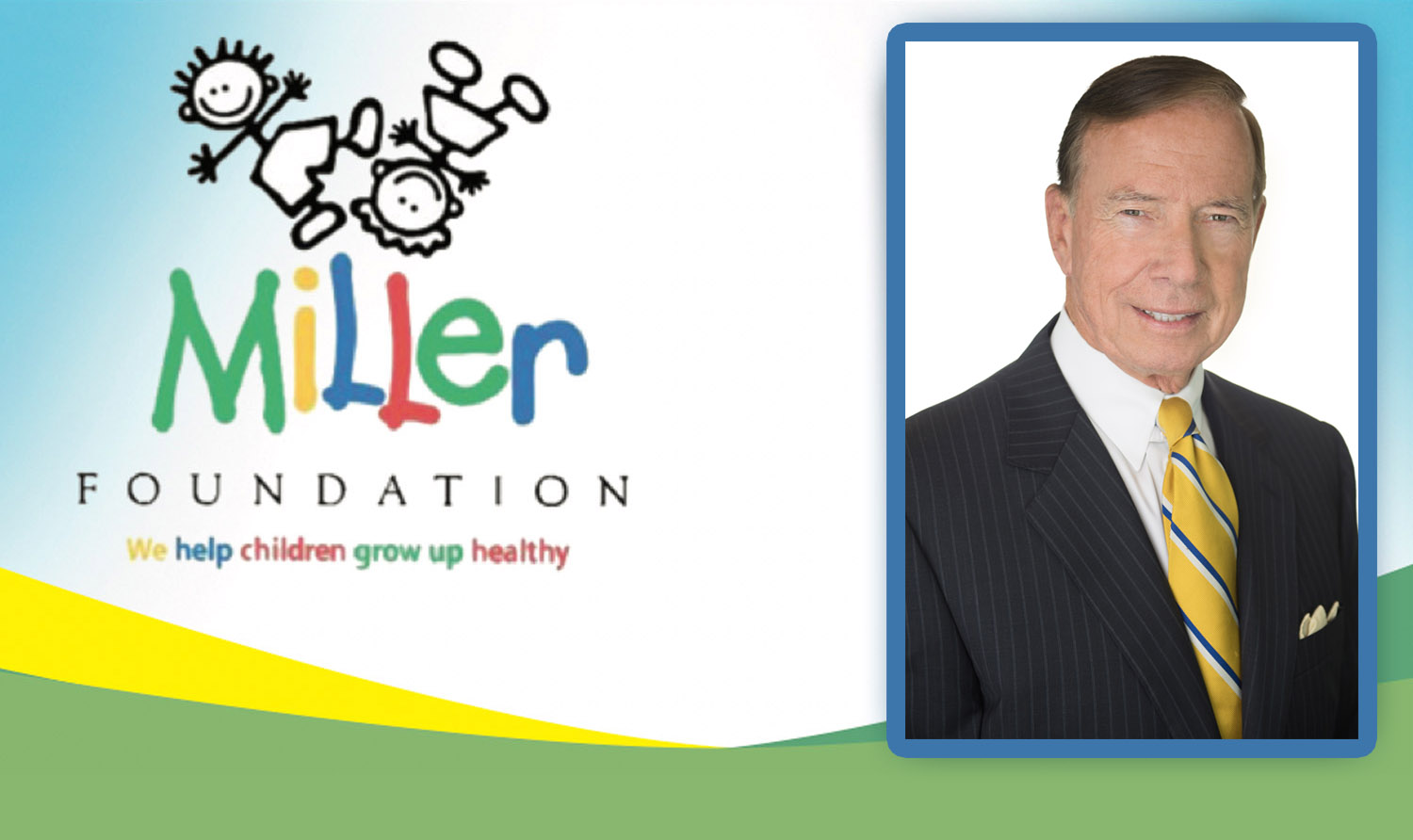 Walter Florie Retires From Miller Foundation