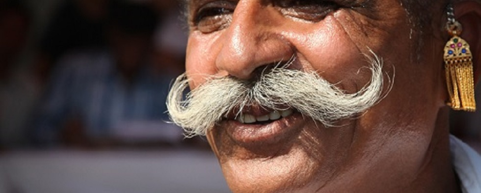 Indian Men Love Big Moustaches and Beards