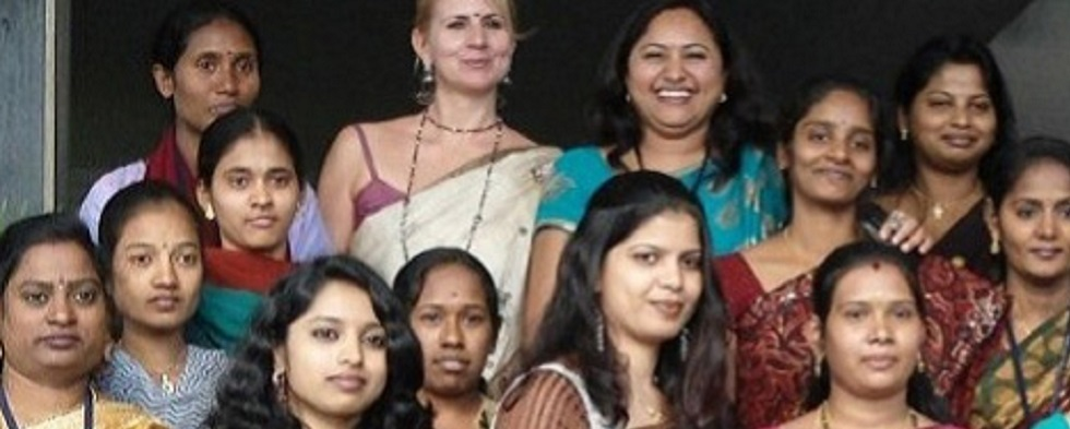 An American's View on Working with Indian Women